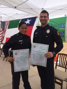 Officer Sierra and Officer Condis