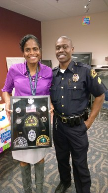 Master Sergeant Erma White and Sergeant Vertis McKinney, #7693