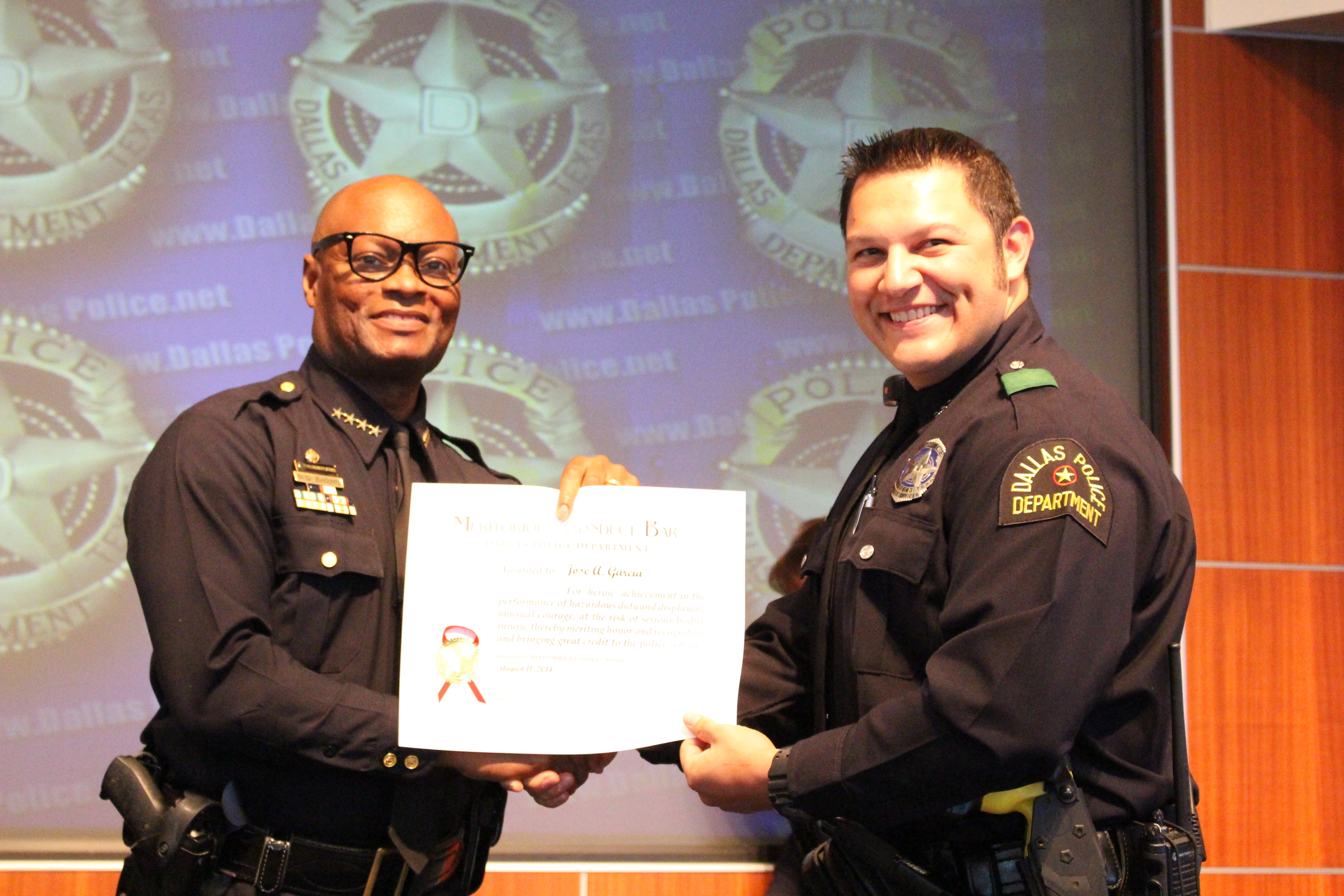 Dallas Police Department Awards Ceremony | DPD Beat