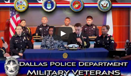 Dallas Police Department Military Veterans | DPD Beat
