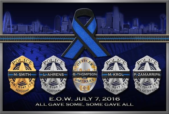 5 Fallaen Officers 2016