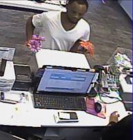 Suspect at register