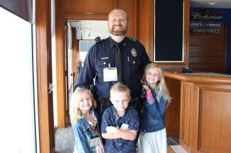 Sr. Cpl Songer with his kids