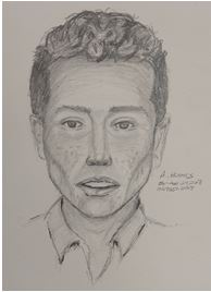 Sketch of Attempted Sexual Assault Suspect
